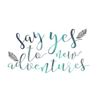 say yes to new